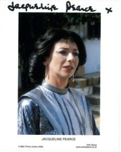 "Jacqueline Pearce ""Servalan"" (Blake's 7) #6  -  10 x 8 genuine signed autograph"